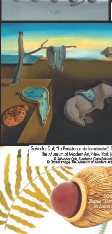 """??  ?? Salvador Dalí, """"La Persistance de la mémoire"""", 1931, huile sur toile, 24 x 33 cm, The Museum of Modern Art, New York (donation anonyme 1934). © Salvador Dalí, Fundació Gala-Salvador Dalí, ADAGP 2020. © Digital image, The Museum of Modern Art, New York/Scala, Florence"""