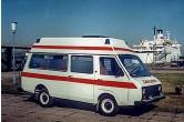 ??  ?? Заводская скорая с высокой крышей – РАФ-2915. Бортовой грузовик РАФ-33111 грузоподъемностью 800 кг.