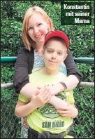 ??  ?? Konstantin mit seiner Mama