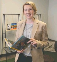 ?? WIL ANDRUSCHAK ?? Kristina Kraychy, founder and head of school, says students will spend half to 80 per cent of their school days outdoors.