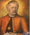??  ?? Peter Pavel Glavar (1721–1784), slika v kapeli na Lanšprežu.