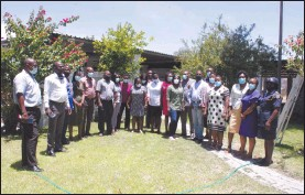 ?? Photo: Petrus Nahole ?? Named… Members of the malaria elimination taskforce committee in Oshikoto region.