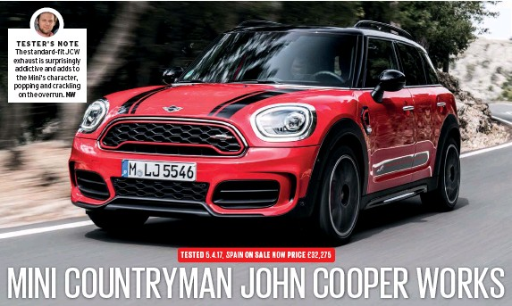 Pressreader Autocar 2017 04 12 Mini Countryman Jcw