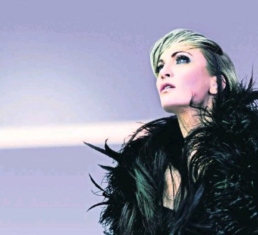 ?? FLORENT SCHMIDT ?? Patricia Kaas, chanteuse française,chantera le 4 février à l 'Arena.