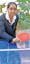 ?? JACKIE CLAUSEN SELECTED ?? HASHMIKA Heeralal will represent South Africa in table tennis at the ISF World School Summer Games in China in October. |