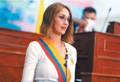 ?? / Cámara ?? Jennifer Arias representa al Centro Democrático por el departamento de Meta.