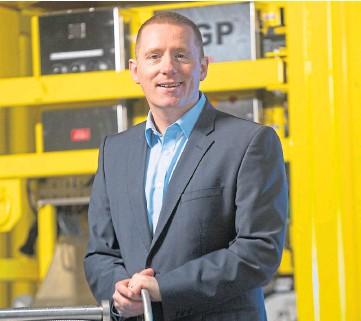 ??  ?? PROUD: Managing director Bryan Fagan hailed the efforts of RMEC'S workforce.