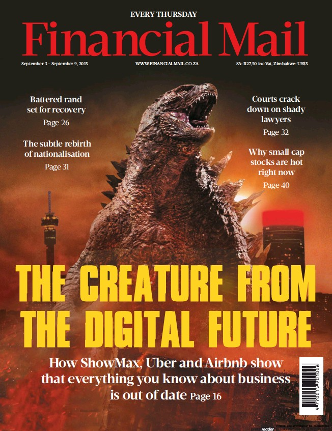 PressReader - Financial Mail: 2015-09-04 - THE CREATURE FROM