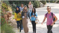 ?? (Marc Israel Sellem/The Jerusalem Post) ?? THE NUMBER of Arab students studying hi-tech subjects has increased in recent years by 75%.