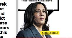 ??  ?? Kamala Harris