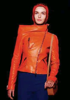 ??  ?? toP: Hijabi-ready looks straight off the runway from Lanvin and Marni.