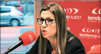 ??  ?? Stéphanie Yon-Courtin, députée européenne et déléguée départementale n'a pas pour projet d'être tête de liste aux élections régionales.