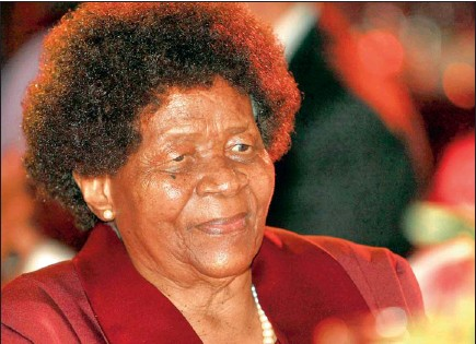 ??  ?? Albertina Sisulu, one of the greatest heroes of the liberation movement, has died PICTURE: BONGIWE MCHUNU