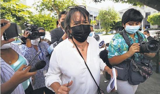 ??  ?? Notificada. Regina Cañas fue notificada por el Juzgado Quinto de Vigilancia y está a la espera que le asignen el trabajo de utilidad pública.