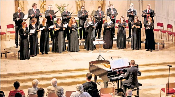 ?? Foto: Schuster ?? AUSGEZEICHNET: Der Synagogalchor bewahrt ein kulturelles Welterbe der Menschheit.