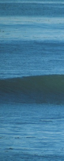 ??  ?? (Above) Perfect peelers and no one out but the friend you came with. Skip Frye and Mike Hynson, living the original Hollister Ranch dream.