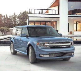 ?? FORD MOTOR CO. ?? The 2019 Ford Flex will be the last model of the vehicle.