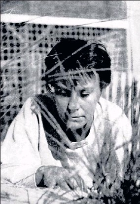 ?? By Truman Capote ?? Book speaks for itself: Truman Capote, a childhood friend, took this photo of author Harper Lee. She never published another book, and she lives quietly inMonroeville, Ala. To Kill aMockingbird