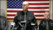?? WCPO ?? Hamilton County Sheriff Jim Neil said his department lost $5.5 million in county funds last year, resulting in his decision to cease filling vacancies and begin layoffs.
