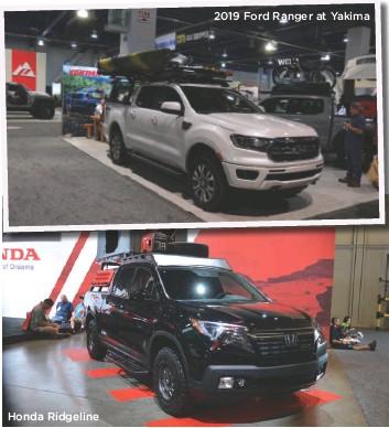 ??  ?? Honda Ridgeline 2019 Ford Ranger at Yakima