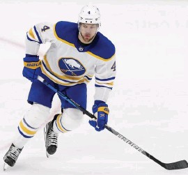 ?? ap File pHOTOs ?? FINALLY COMING TO BOSTON: After scoring just two goals in 37 games this season with the Buffalo Sabres, the Bruins are hoping a change of scenery is just what the former top overall pick needs.