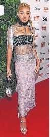 "??  ?? ""Dear Evan Hansen"" star Amandla Stenberg announced her emerging fashion star status in an all-eyes-on-me Gucci look."