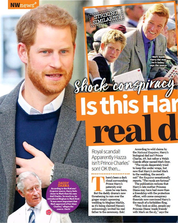 prince harry s daddy woes pressreader prince harry s daddy woes pressreader