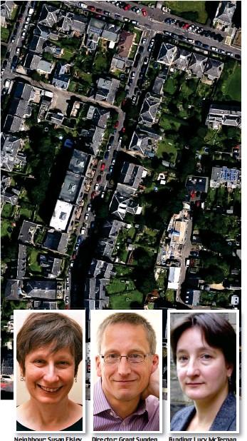 ??  ?? Neighbour: Susan Elsley Director: Grant Sugden Funding: Lucy McTernan