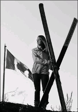 ?? Calgary Herald Archive ?? Zoya Lynch is celebrating the IOC's approval of women's ski jumping for the 2014 Winter Games. Lynch retired from ski jumping in 2008 but says there's a chance she may return.