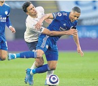 ??  ?? Youri Tielemans, in action against Man City's Rodri, is set to extend his stay at Leicester