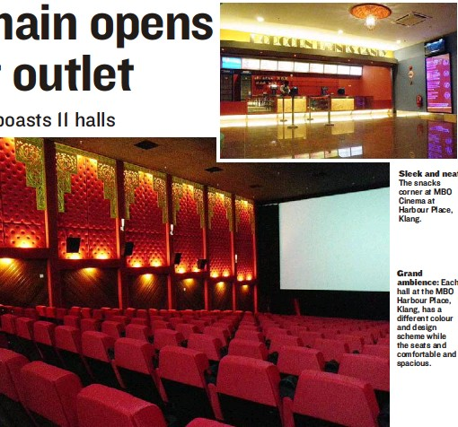 Pressreader The Star Malaysia 2010 07 24 Cinema Chain Opens Its Largest Outlet
