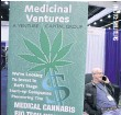 ??  ?? A venture capital booth is seen at the Cannabis World Congress in Los Angeles in September last year.