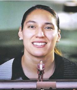??  ?? El gobernador Diego Sinhue reconoció a las mujeres y a varios deportistas del estado de Guanajuato.