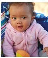 ??  ?? Ava Botha (6 maande), Aranos, Namibië.