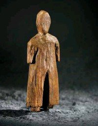 """??  ?? Bishop of Baffin This Thule ivory carving of a Norseman wearing a cloak and cross was found on Baffin Island. It dates back to about 1350 and shows that Europeans and Indigenous Canadians were trading long before Christopher Columbus """"discovered"""" the..."""