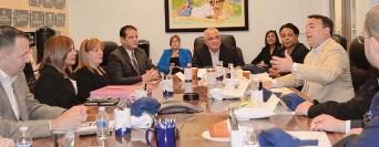 ?? Cecilia Figueroa, Especial para La Prensa / ?? La Cámara de Comercio de Metro Orlando sostuvo una reunión con el vicealcalde de Bayamón.