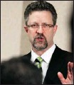 ?? Gavin Young, Calgary Herald ?? chuck Strahl, a former tory cabinet minister, has lung cancer linked to asbestos exposure.