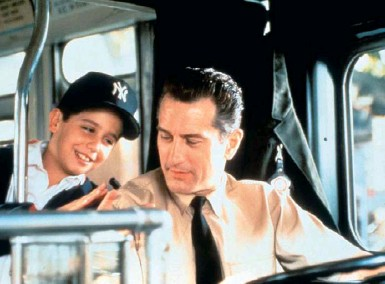 ??  ?? In 1993, Robert De Niro and his passenger, in A Bronx Tale.