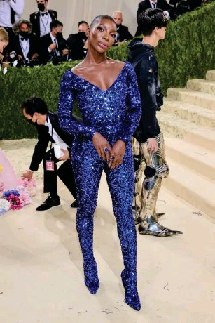 ?? (Getty) ?? The writer and actor attended her first Met Gala