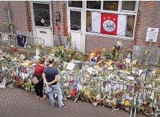 ?? AFP ?? In dieser Strasse wurde de Vries am 6. Juli niedergeschossen.