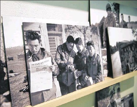 """?? Photographs by Katie Falkenberg Los Angeles Times ?? ITO'S WORK """"covers a gap in the imagery ofWorldWar II,"""" says the Japanese American National Museum's Lily AnneWelty Tamai."""