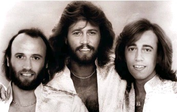 ??  ?? And then there was one: Maurice, Barry and Robin – the Bee Gees in 1979