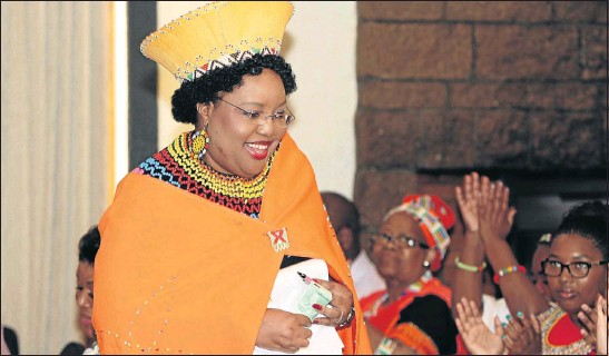 ?? PHOTO: BAFANA MAHLANGU ?? TRADITIONALIST: Chairwoman of the Commission for the Promotion and Protection of the Rights of Cultural, Religious and Linguistic Communities Thoko Mkhwanazi-Xaluva describes herself as an African feminist who knows where she comes from
