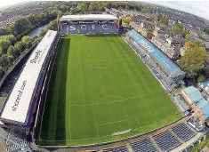 ??  ?? Edgeley Park, home of Stockport County FC