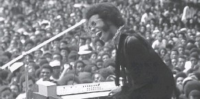 "?? PROVIDED BY SUNDANCE INSTITUTE ?? Sly and the Family Stone perform at the 1969 Harlem Cultural Festival in ""Summer of Soul (... Or, When the Revolution Could Not Be Televised),"" the directoria­l debut of Ahmir ""Questlove"" Thompson."