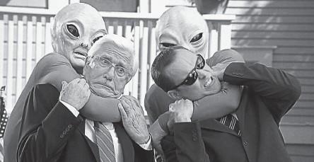 ??  ?? Многие люди, которых, как они утверждают, похищали пришельцы, интересовались уфологией или смотрели фильмы на эту тему.