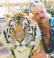 ??  ?? Tiger King, featuring Joe Exotic, captivated locked-down viewers.