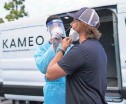?? PROVIDED BY KAMEO ?? Kameo offers testing to film and TV productions.
