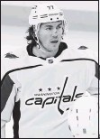 ?? THE ASSOCIATED PRESS ?? T.J. Oshie scored one of his two goals in the Capitals' three-goal first period against the Bruins.