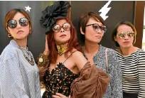 ??  ?? Julia Yam, Sea Princess, Jessica Chan, Joy Go